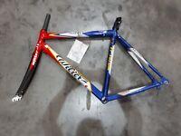 Wilier Escape 2013 Frame Road Bike Carbon Fork Blue/Red -- New