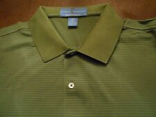 FAIRWAY & GREENE PUREFORMANCE SHIRT GREEN WITH SLEEVE PATCH SIZE L