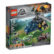 LEGO Jurassic World Dinosaur - Blue's Helicopter Pursuit - 75928