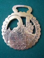 Horse Brass  Wokingham - B3 - Height 4  inches  Width 3.25 inches approx