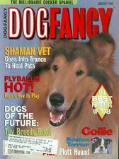 1999 Dog Fancy Magazine: Collie/Boston Terrier/Plott Hound/Shaman Vet/Flyball