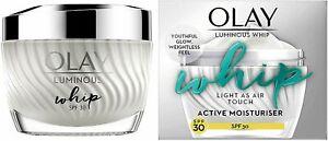 Olay Luminous Whip Light As Air Moisturiser For Glowing Skin SPF30 -50ML-SEALED