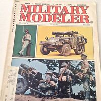 Military Modeler Magazine Nebelwerfer Build A Crusader April 1977 070917nonrh
