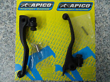 KTM SX SXF EXC EXC-F 250 300 350 450 500 14-17 Black Clutch Brake Lever Set