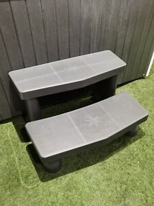 Palm Spas Grey Hot Tub Steps 2 Tier Spa Jacuzzi Whirlpool Spares