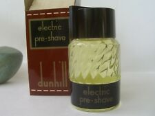 DUNHILL Classic ELECTRIC PRE- SHAVE 56 cc/ml splash RARE  VINTAGE