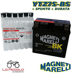 Battery MAGNETI MARELLI YTZ7S-BS Sealed Husqvarna Te 511 2011 2012 2013