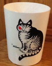 Vintage Kilban Cat. Trash Can