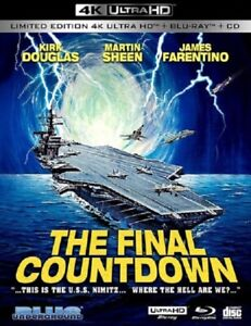 The Final Countdown (Kirk Douglas) Limited Edition New 4K Mastering Blu-ray + CD