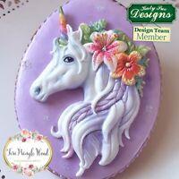 Katy Sue Designs Sugarcraft and Clay Mould Unicorn