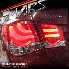 Clear Red LED Tail Lights for Holden Cruze Sedan 09-15 Taillight 4 Doors Turbo