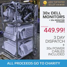 DELL - Monitors & Stands (x30) - TFT LCD - *JOB LOT* *WHOLESALE*