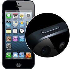 Black Power Button Metal Replacement Parts Compatible  iPhone 5 -#947363