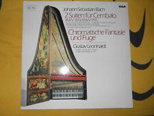 """LP / Johann Sebastian Bach """"Fantaisie chromatique & fugue"""" RCA / RED SEAL"""
