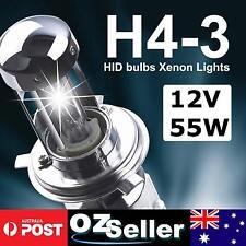 55W HID Xenon H4 Hi/Low Bi-Xenon Pair Globe Bulb Replacement Bulb 6000K 8000K Au