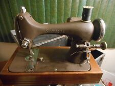 Vintage Sewing Machine SEAMSTRESS REVERSEW case parts Works just like a Singer