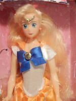 "Sailor Venus Deluxe Adventure Doll 11.5"" Bandai Anime Cartoon Moon Action Figure"