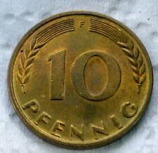 GERMANY  10   PFENNIG  1950 -F