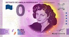 Billet Touristique Souvenir 0 euro PORTUGAL 2020 AMALIA RODRIGUES Anniversary