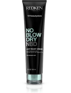 REDKEN No Blow Dry Just Right Cream 5oz *NEW*