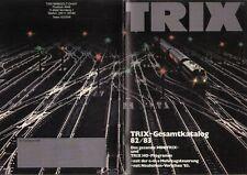 catalogo TRIX 1982-83 HO Programm & Minitrix  bb