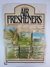 Vintage 1986 Store Air Freshener Display Fishing Trout Bass Buck Deer Ducks