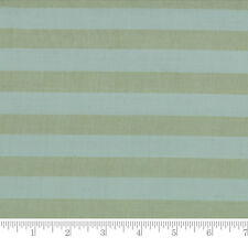 Moda Fabric Snowfall Wovens Large Stripe Ice Blue - Per 1/4 Metre
