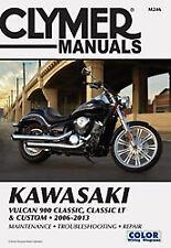 Clymer M246 Kawasaki Vulcan 900 Classic LT Custom 2006-2015 Manual
