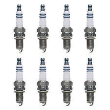 Set of 8 Iridium Spark Plugs For Porshe 911, Fiat 500, Volkswagen Touareg