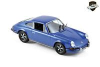 PORSCHE 911 S 2.4 1973  - Voiture bleu germini sports car - 1/43 NOREV 750055