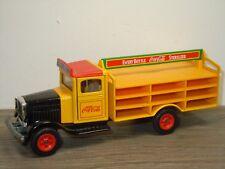 White Truck Coca Cola - Siku *36068