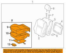 Pontiac GM OEM 09-10 Vibe Front Seat-Foam Cushion Pad Right 19184931