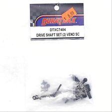 Duratrax RC Parts Universal Drive Shaft Set Vendetta SC (2) DTXC7484