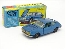 Corgi Toys SB 1/43 - Lancia Fulvia Zagato Bleue 332 + Boîte