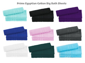 4 PACK BIG SOFT COTTON BATH SHEETS TOWEL BALE SET SPORTS GYM SPA QUICK DRY TOWEL