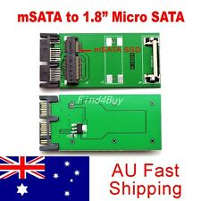Mini PCI-e 50mm mSATA SSD to 1.8 inch Micro SATA Converter Adapter Card