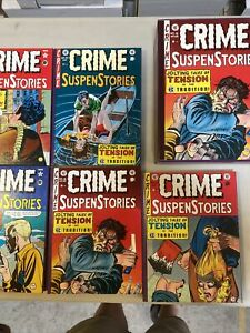 EC Archives Crime SuspenStories Volume 3 Hardcover HC RARE Complete Set