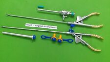 Needle Holder Curvd Jaw & Straight Jaw 5mmx330mm Laparoscopic Surgical