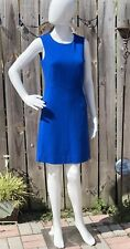 NWOT Diane Von Furstenberg Royal Blue Women Dress Size 0
