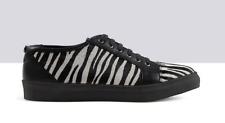 Ted & Muffy Nimbus Zebra Print Pelo Con Cordones Zapatos Uk 7 EU 40 LG07 33