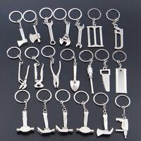 1 Pc New Creative Tool Wrench Spanner Key Chain Ring Keyring Metal Keychain LI