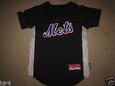 New York Mets MLB Baseball Black Jersey Youth M 10-12 medium