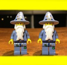 LEGO FANTASY ERA GOOD WIZARD CASTLE  LOT OF 2X GENUINE MINIFIGURES SET# 5641