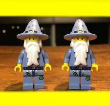 LEGO FANTASY ERA GOOD WIZARD CASTLE  LOT OF 2X GENUINE MINIFIGURES SET# 5641