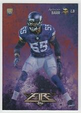 ANTHONY BARR 2014 Topps Fire Football Flame Foil Parallel Card #118 Vikings
