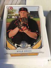 2014 Bowman Draft  TP-63 Kyle Crick 10 Card Base Paper Lot -San Francisco Giants