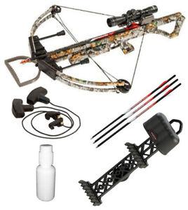 Darton Archery Terminator II Crossbow 165 LB (340 FPS) Hunting Package Special