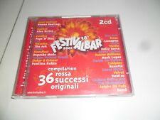 FESTIVALBAR 2001 COMPILATION ROSSA DOPPIO CD BUONE CONDIZIONI ORIGINALE RARO