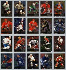 1996-97 FLEER METAL UNIVERSE INSERT CARDS - U PICK SINGLES - FINISH SET Mint BV