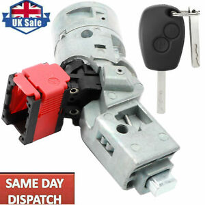 Ignition Lock Barrel Starter Switch for Renault Clio Master Trafic Vauxhall